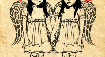 Ένα ανολοκλήρωτο γκράφιτι από τον Χρίστο Κακουλλή για τα δίδυμα κορίτσια από το Μάτι