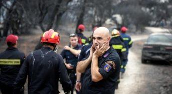 102 πλέον οι νεκροί σε Ραφήνα και Μάτι